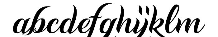 Andaluzia Personal Use Regular Font LOWERCASE