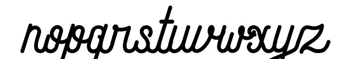 Andara Script Demo Font LOWERCASE