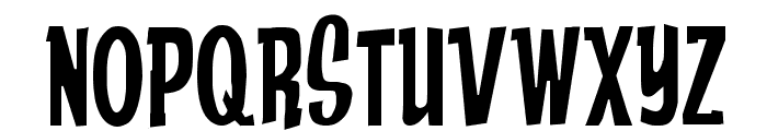 Anderson Stingray Font UPPERCASE