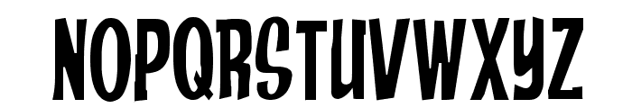 Anderson Stingray Font LOWERCASE