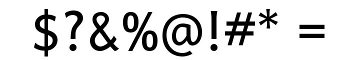 Andika Basic Font OTHER CHARS