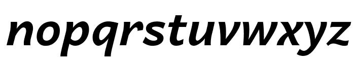 Andika New Basic Bold Italic Font LOWERCASE