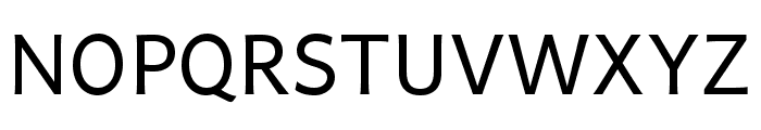 Andika Regular Font UPPERCASE