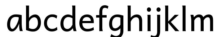 Andika Font LOWERCASE