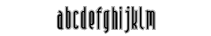 Andiron Outline NF Font UPPERCASE
