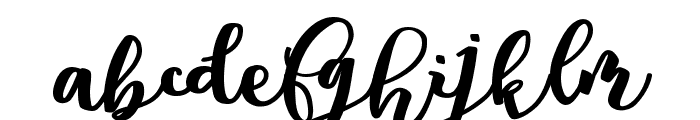 Andorra Personal Use Font LOWERCASE
