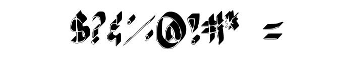 AndreaFont Medium Font OTHER CHARS