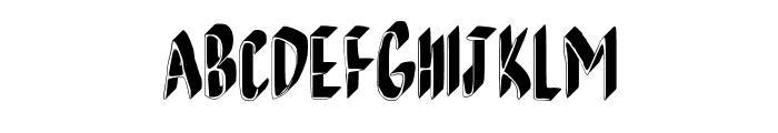 AndreaFont Medium Font UPPERCASE