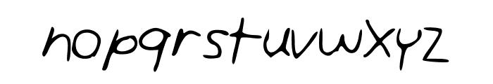 AndreaUnedited Font LOWERCASE