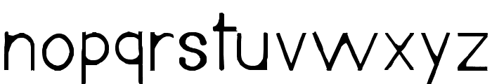 Andreus-Regular Font LOWERCASE
