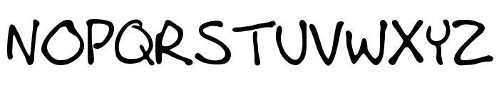 AndrewScript Font UPPERCASE