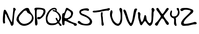 AndrewScript_1.6 Font UPPERCASE