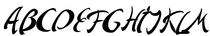 Andriko Font UPPERCASE