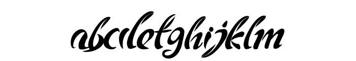 Andriko Font LOWERCASE