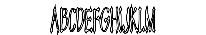 Androganonamous Font UPPERCASE