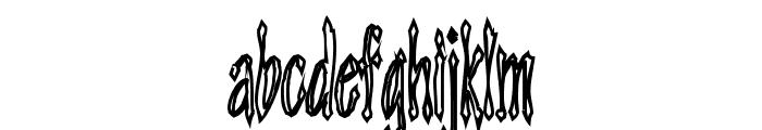 Androganonamous Font LOWERCASE