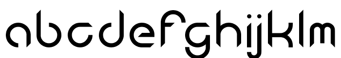 Android Insomnia Regular Font LOWERCASE