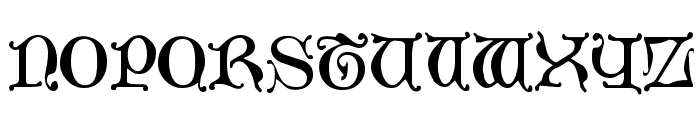 Aneirin Regular Font LOWERCASE