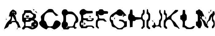 Aneurysm Font UPPERCASE