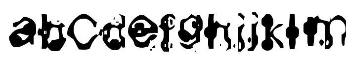 Aneurysm Font LOWERCASE