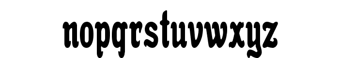 Anfisa Grotesk Font LOWERCASE