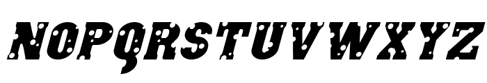 Angel Arms Italic Font LOWERCASE