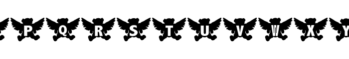 Angel Bear Font UPPERCASE
