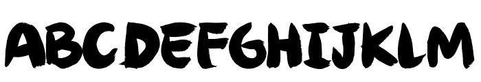 Angel Brotxa Regular Font UPPERCASE