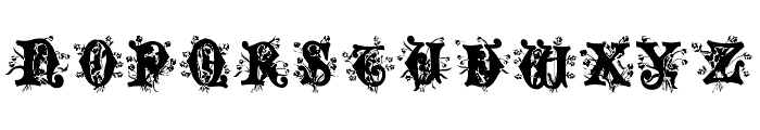 Angel Normal Font UPPERCASE