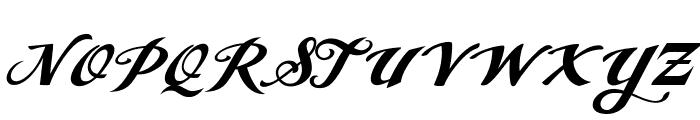 Angel Tears Neue Personal Us Regular Font UPPERCASE