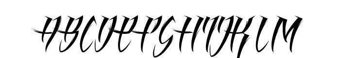 Angel of Blood Light Font UPPERCASE