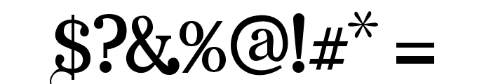 Angelic Serif Font OTHER CHARS
