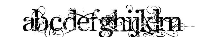 AngelicWar Font UPPERCASE