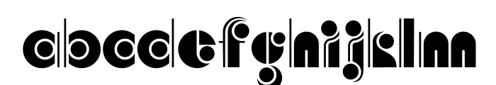 AngelicaCP Font LOWERCASE