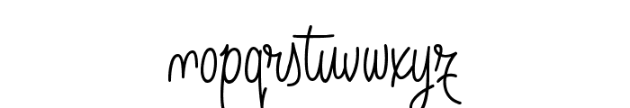 Angelique Rose FFP Font LOWERCASE