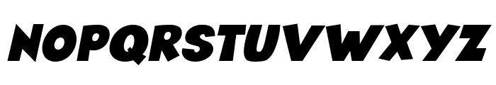 Angella Italic Font UPPERCASE