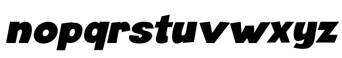 Angella Italic Font LOWERCASE