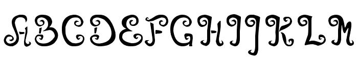 Angelova Font UPPERCASE