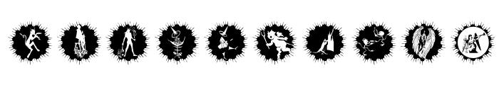 AngelsOrDevils Font OTHER CHARS