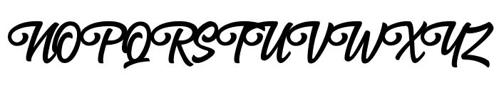 Anghones Font UPPERCASE