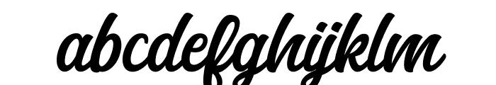 Anghones Font LOWERCASE
