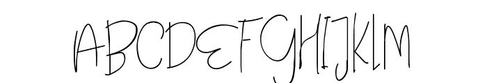 Angle Rose Regular Font UPPERCASE