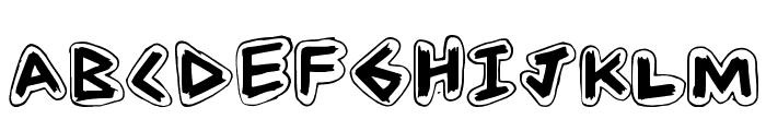 AngleStroke Font UPPERCASE