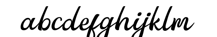 Anglena Font LOWERCASE