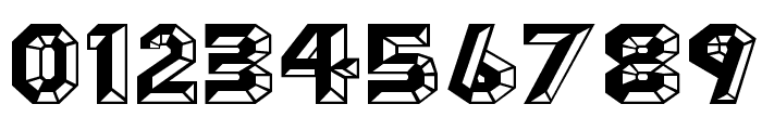 Angles Octagon Font OTHER CHARS
