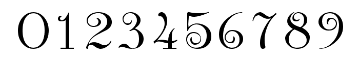 Anglican Regular Font OTHER CHARS