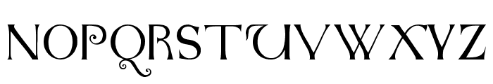 Anglo-Saxon Caps Font UPPERCASE