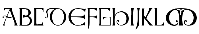 Anglo-Saxon Caps Font LOWERCASE