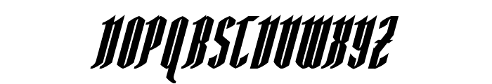 AngloYsgarth Bold Italic Font UPPERCASE