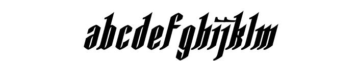 AngloYsgarth Bold Italic Font LOWERCASE